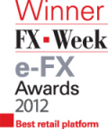 Saxo Bank wins two accolades at FX Week's e-FX Awards 2012