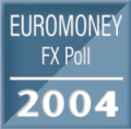 Saxo Bank ranks with the world's leading banks in Euromoney FX Poll 2004