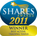 Saxo Bank awarded Best Active Trading Tools at Shares Awards 2011