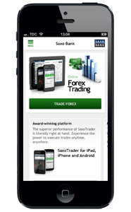 New features for SaxoTrader iPhone® and iPad®